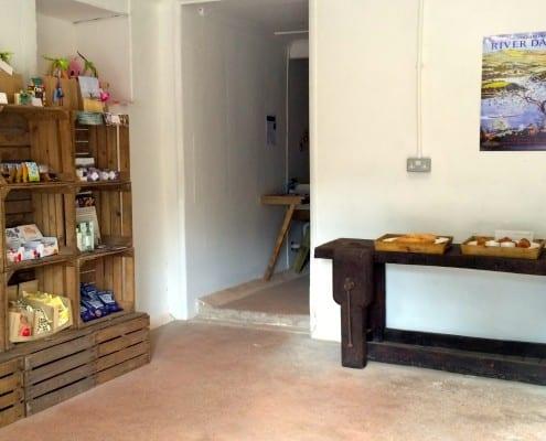 Brownscombe's luxury larder, stocking a range of local Devon produce