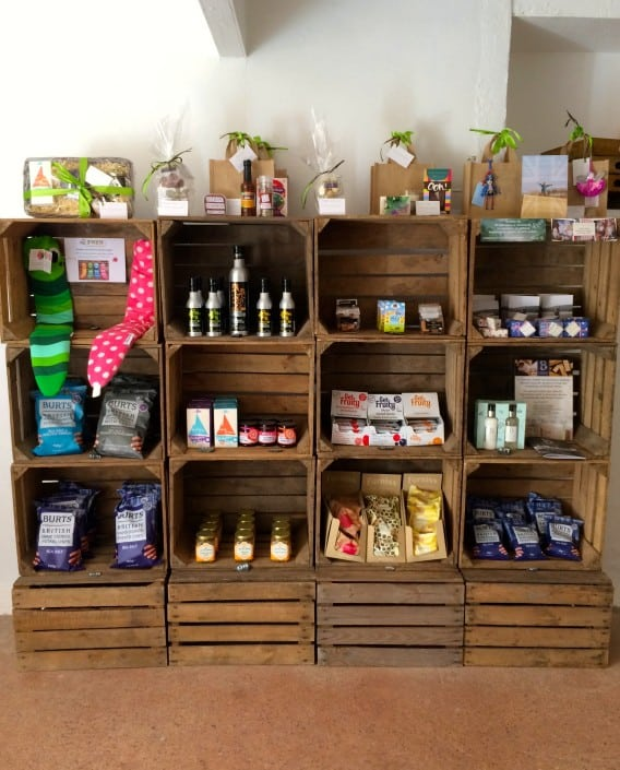 Brownscombe's luxury larder, stocking a range of West Country produce