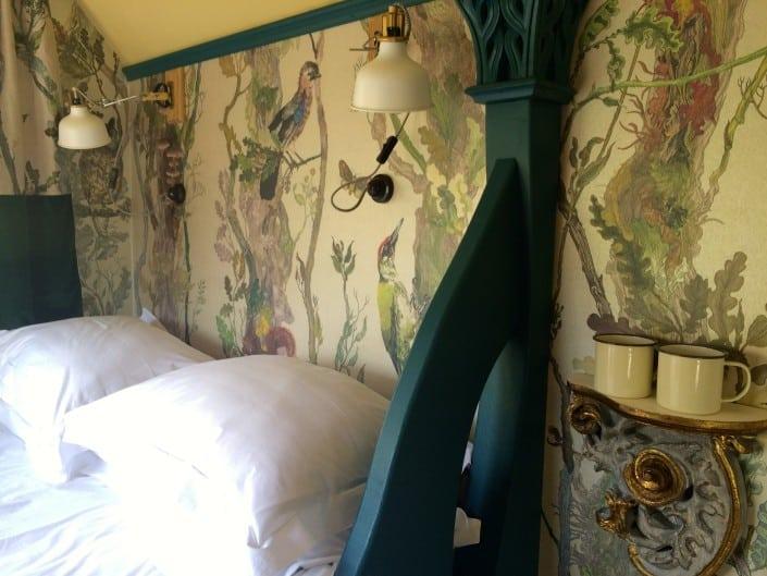 Luxury linens, sumptuous fabrics and designer wallpaper