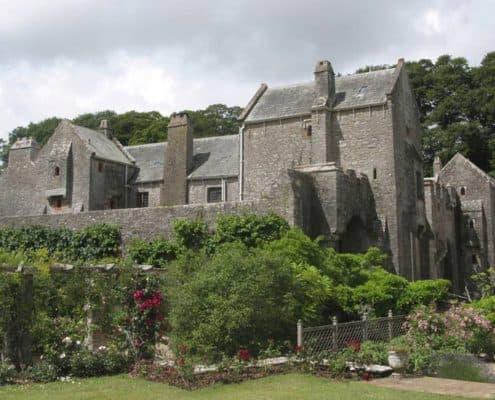 Compton Castle in South Devon