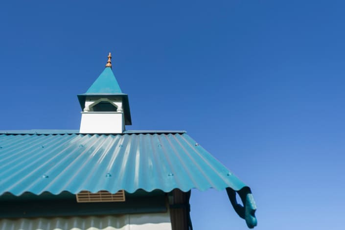 A close up of the Cornish Tabernacle at Brownscombe Luxury Glamping