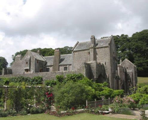 Compton Castle in South Devon