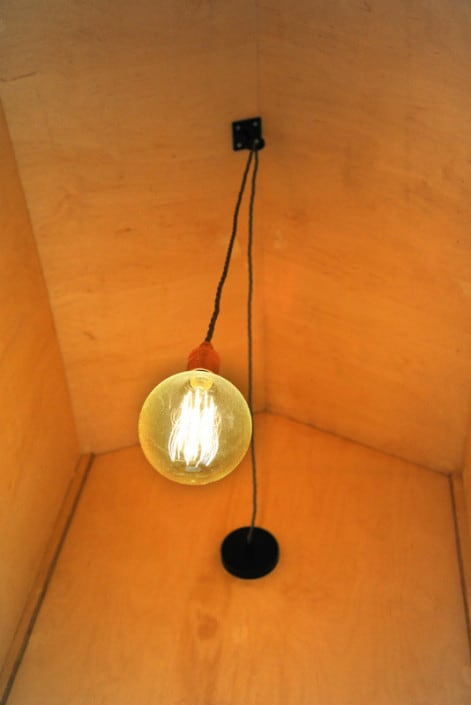 Electric lights in the Bathrooms at Brownscombe