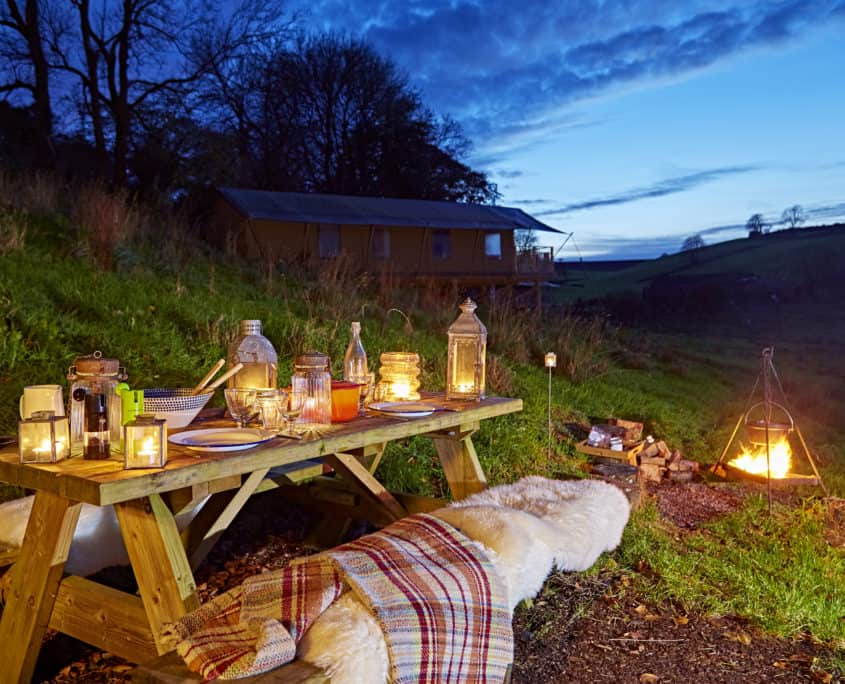 The best glamping holidays start at Brownscombe